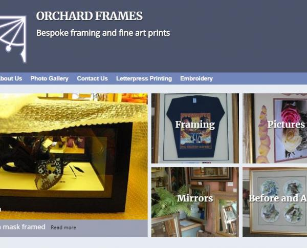 Orchard Frames Frame and Mounting Services